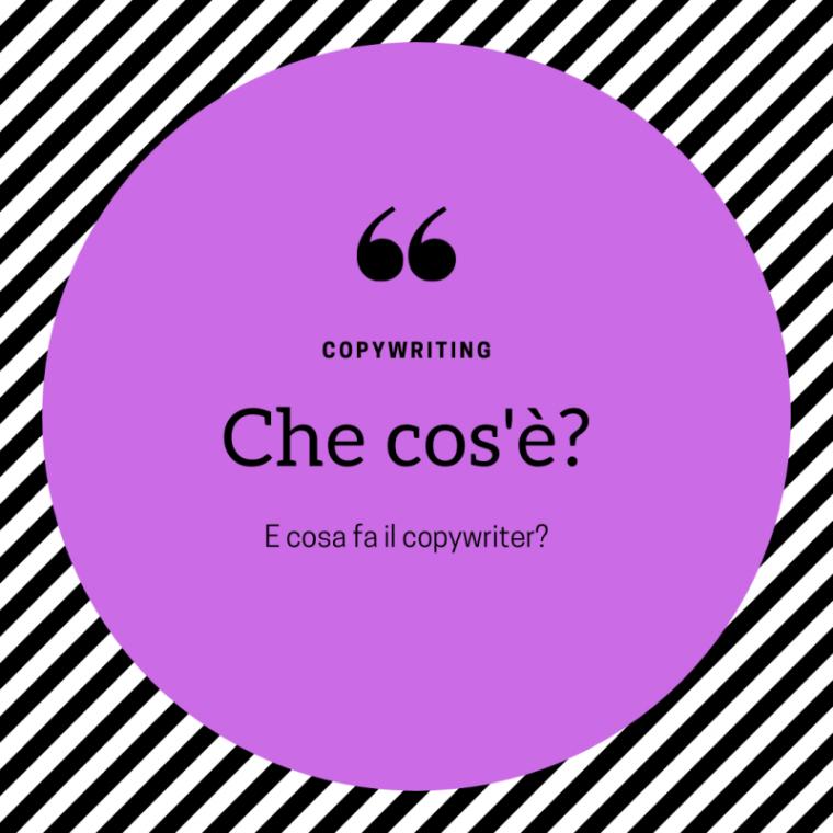 Che cos'è il copywriting?