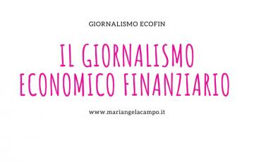 Giornalismo economico finanziario